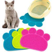 애완 동물 개 매트 패드 발 PVC 침대 접시 배치 고양이 쓰레기 매트 애완 동물 음식 물 피드 배치 애완 동물 카펫 애완 동물 액세서리