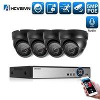 "H.265 5MP اكتشاف الوجه التعرف Poe NVR CCTV نظام الأمن HD للماء 5MP 1/3 ""سوني IMX335 IP كاميرا مراقبة كيت 1"