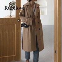 Trench da donna RUBILOVE 2021 Autunno Inverno Vendita Fashion Needred Casual Ladies Lavoro Wear Bella giacca