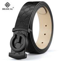 الرجال حزام جلد البقر جلد طبيعي أحزمة للرجال جودة عالية الأزياء خمر الذكور المرأة حزام للجينز جلد البقر LJ200901