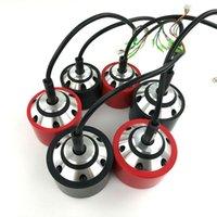 E-Skateboard-Nabenmotor 70mm 83mm 90mm schwarz rote PU-Abdeckung für ein einzelnes Laufwerk oder ein elektrisches Doppeltrieb elektrischer Longboard
