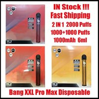 Puffs Max Pro Switch Kits Vape Device 2 IN Disposable Pen XXtra Empty 7ml Pods 2000 Bang VS XXL DHL Iget Puff 1 Free Qipfg