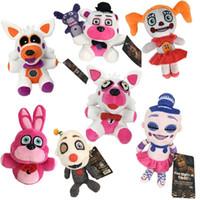 Midnight Harem Pelúcia Brinquedo Teddy Bear Cinco noites no harem jogo boneca boneca boneca thriller brinquedo crianças