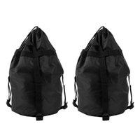 2 stücke Oxford Tuch Taschen für Schlafsack Reise Erwachsene Sachen Sack Lagerung Sack Sack Camping Wandern Backpa1
