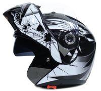 Yeni Sıcak satış Cross-Country Motosiklet Kask Erkek Anti-sis Güneş Kremi Çift Lens Tam Yüz Kapak Tipi Dört Mevsim Yüz-Kapama Kask