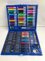 150 قطع فرشاة الأطفال قلم مجموعة الفن اللوحة الملونة القلم هدية مجموعة مربع كيد الطالب paintbrush المائية فرشاة القلم القرطاسية AHF3151