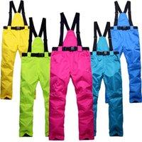 Neue Mode-Winter-Skihose für Männer und Frauen, Single-Board-Doppel-Board-winddichte wasserdichte warme, gepolsterte Skihose