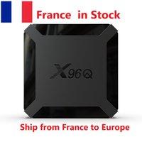 (Ship from France) X96Q Android 10.0 2GB RAM 16GB Smart TV Box Allwinner H313 Quad Core 1GB 8GB