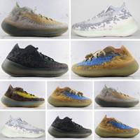 Yeezy Boost 380 الغريب ميست أحذية النساء الرجال مصمم حذاء رياضة الجري الأحذية يعزز 380 مستشفى الأزرق كاني ديس Chaussures scarpe zapatos الرياضة
