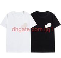 2020 Новая вышивка из роскоши футболки моды персонализированные мужчины и женщины дизайн футболки женские футболки высококачественные черные и белые100% COTT