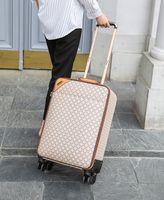 جديد مصمم المرأة الرجال حقائب للجنسين سبينر توسيع عربة ماركة أزياء الفاخرة مصمم حمل ثلاجات حقيبة المتداول الأمتعة مجموعات