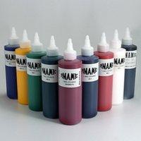 1 قطع 240 ملليلتر متعدد الألوان الوشم الحبر professinal شبه الدائم الصباغ microblading الصلبة الحبر معدات الوشم الجسم مظل