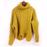 Lanmrem Весна осень Сплошной цвет Горячая распродажа водолазки с длинным рукавом вязание пуловер поддерживать теплый свитер женщины M41003 Y200116