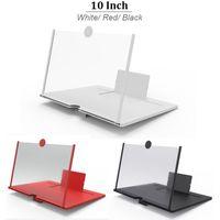 10 بوصة محمول شاشة الهاتف المحمول المكبر فيديو 3D عيون حماية للطي شاشة العرض مكبر للصوت المتوسع