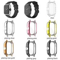 Weicher Überzug TPU Fall-Abdeckung für Huami Amazfit GTS 2 POP Super Slim Voller Schutz Smart-Uhr-Silikon-Stoßrahmen Protecter