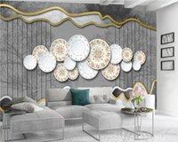 3d Wallpaper Custom Photo Mural Exquisite Plate Landscape Wallpaper Digital Printing HD Decorative Beautiful 3d Wallpaper