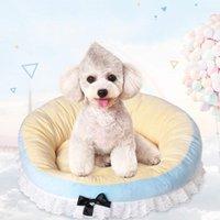 Canis canais fita arcos cão cama tenda almofada sofá sofá animal de estimação saco de sono puppy casa de puppy casa ninho canil cair camas para perro