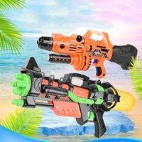 Nouvelle piscine d'été 1000ml Jumbo Blaster Eau pistolet Enfants Jouet Beach Squirt Pistolet Spray Toys en plein air Y200728