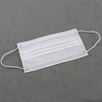 Unisex Siyah Yüz Tek Kullanımlık Maskeleri Yetişkin Pembe Mavi Beyaz Maske Elastik Kulak Döngü 3 Kat Nefes Anti Toz Hava Kirliliği