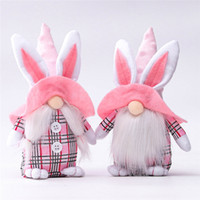 Faceless Bunny Dwarf Doll Easter Bunny Gnome Gift for Girlfr...