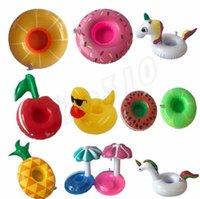 Moda Parti Malzemeleri Şişme Kupası Şamandıra Tutucu Bardaklar Şişme İçecek Sahipleri Yüzme Havuzu Klimalar Bardaklar için 12 m2