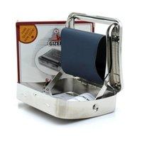70mm 담배 담배 흡연 롤링 머신 롤러 금속 상자 담배 롤 용지 9.3x8.3x2cm