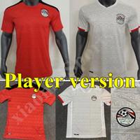 2020 2021 Versione giocatore Egitto Maillots deley Soccer Jersey National Team Home Away Kahraba M.salah Camicia da calcio Camiseta de futbol