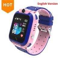 Último Q12 Niños Kids Watch Watch Smartwatch con tarjeta SIM para Boys Girls Canera Gift Impermeable IP67 Regalo Smart Watch para Android iOS