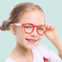 Lunettes de soleil Ggovo Fashion Verres anti-bleus pour enfants 6 Couleur Choice Lunettes de vue de la fille Blocage nuisible Light Eyewear Cadre