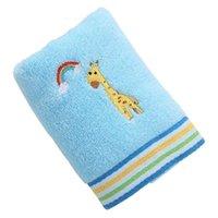 Bonito desenho animado algodão bebê menino retangular macio absorvente crianças lavagem toalha crianças chuveiro produtos dropshipping