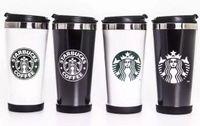 Последние 16 унции двухслойных пластиковых нержавеющей стали Starbucks Cheeck Coffee, Starbucks из нержавеющей стали вакуумной колбы, бесплатная доставка