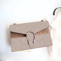 أعلى جودة إمرأة محفظة ديونيسو صغير النمر رئيس إغلاق جلد طبيعي إلكتروني طباعة سلسلة رفرف حقيبة الكتف حقيبة bolsos دي لوجو دي diseño