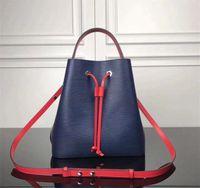 Diseñadores de mujeres NOE bolsas bolsas bolsas bolso bolso de hombro de alta calidad cubo de cuero genuino de las mujeres famosas diseñador damas bolsos cruzados cuerpo