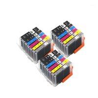 6 Colore PGI670 CLI671 PGI-670 BK CLI-671 Cartuccia d'inchiostro compatibile Compatibile Inchiostro completo per Canon Pixma MG7760 MG7766 MG7765 Printer11