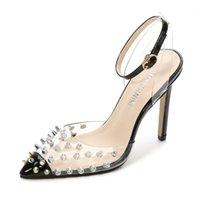 Robe chaussures Odinokov rivet hauts talons de luxe Designer femmes femmes pompes sexy printemps sommente rhumère de bureau chaussures1