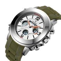 SN143 Business Sinas Multi Новая функция спортивные двойные дисплеи мужские часы