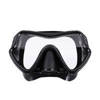 1PC Sport Professionnel Scuba Masque de plongée Pêche Pêche Plongée en apnée Équipement Snorkel Anti-Bog Lunettes Lunettes Set Silicone