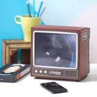 2020 Retro TV Telefon Ekran Video DIY Büyütücü Amplifikatör Büyüteç Retro TV Görünüm