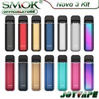 KROM NOVO 3 POD System Kit 25W 800MAH с 2 мл 0,8O 0.8OMM NOVO 3 MESH POD Side Fill System Activied Pod Vape Kit