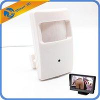 Sony CCD 700TVL Mini Croc Caméra 1000TVL COMS 139 Sécurité Boîte PIR Caméra CT avec une lentille PIN HOLL pour surveiller / TV1