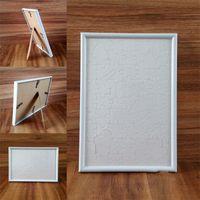 Jigsaw Picture Frame Sublimação Blanks Plástico Letter Sólidos Cores Amor Coração Frame Book Board Polígono Polígono Popular Artefato 5ZH L2
