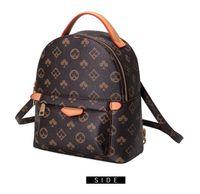 Женщины рюкзаки классические коричневые сумки мода мини-рюкзак хорошее качество школьная сумка кошелек n02