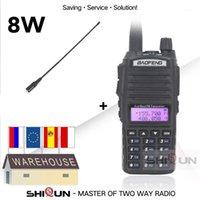 8W Baofeng UV-82 Walkie-Talkie Dual Band com Na-771 VHF / UHF UV 82 Walkie Talkie 10 km UV82 Baofeng 8W Rádio 10 km UV-9R UV-5R1