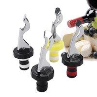 1 Stück Multifunktions-Edelstahl-Weinflaschenstopper-Vakuum-rote Weinkappe-Sealer Fresh-Keeper-Bar-Werkzeuge Flaschenabdeckung Küchenzubehör