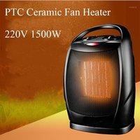 Home aquecedores PTC Cerâmica Elétrica Aquecedor 3-Speed Ajustável Energia de Energia de Energia Desktop Change Head Radiator Habiler com termostato1