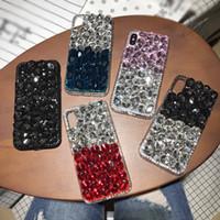 بلينغ كريستال حالة الهاتف الماس آيفون 12 ميني الأزياء الغطاء الواقي لفون 11 برو XS ماكس XR X 8 7 زائد