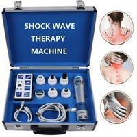 المدقق الكهربائية المحمولة موجة العلاج آلة الموجات فوق الصوتية العلاجية التهاب اللفافة الأخمصية مع 2 و homewave handles1