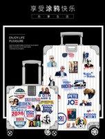 2020 ABD Başkanlık Seçim Joe Biden Harries Baskılı Çıkartma Bagaj Buzdolabı Paster 100pcs / lot Fonksiyonlu Araç Plakası E111801