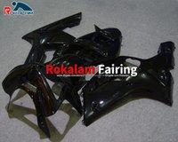 Aftermarket Fairing для Kawasaki Ninja ZX6R ZX-6R 03 04 2003 2004 ZX 6R Gloss Black Motorcycle Citialing Body Kit (литье под давлением)