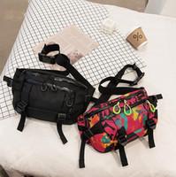 حقيبة الخصر الأزياء التعادل صبغ الطباعة فاني حزمة الرجال النساء جودة عالية المبهر قطاع حزام حقيبة الجري الترفيه الهاتف محفظة بومباغ
